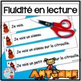 French Reading Fluency - Fluidité en lecture - L'automne - Lecture guidée