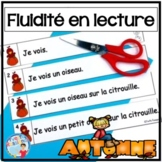 French Reading Fluency Activities | Fluidité en lecture pour L'AUTOMNE