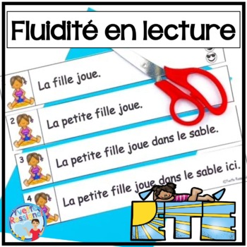 French Reading Fluency - Fluidité en lecture - L'été - Lecture guidée