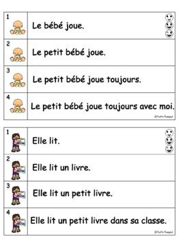 French Reading Fluency - Fluidité en lecture - Niveau 1 - Lecture guidée