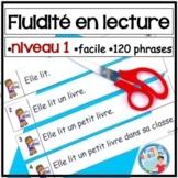 French Reading Fluency | Activités pour la fluidité en lec