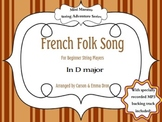 French Folk Song (in D)