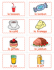 French Food  BINGO - French Food Game - French Vocabulary Game
