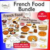 French Food Clip Art Bundle