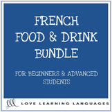 French Food Bundle - La Nourriture et les Restaurants