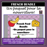 French Food/Nourriture BUNDLE–activities, vocabulary, cult