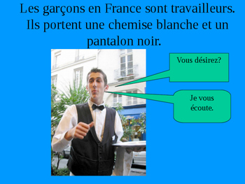 French Food Culture Powerpoint