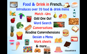 French – Food & Drink.