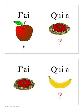 French Food Game - Le cercle magique