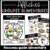French Food Groups Posters   Alimentation - Groupes alimentaires Affiches