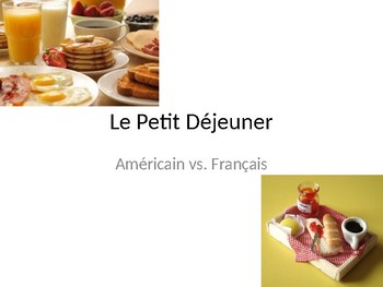 French Food Introduction (Bien Dit 1 Ch 6)