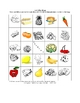 French Food Picture Bingo