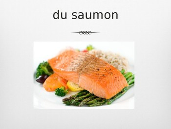 French Food Pictures & Vocabulary - Fish & Seafood