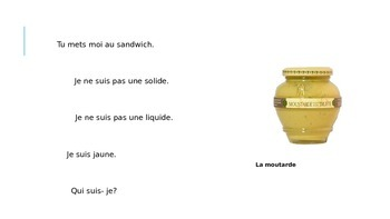 French Food Riddles