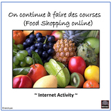 French Distance Learning Friendly – Food Shopping France -