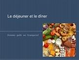 French Food Vocabulary - Level II