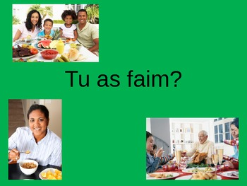 French Food Vocabulary Power Point ppt Cuisine