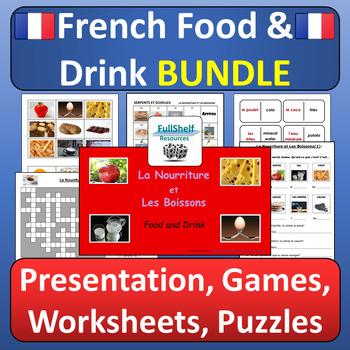 French Food and Drink (La Nourriture) BUNDLE
