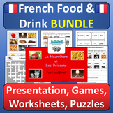 French Food and Drink (La Nourriture) BUNDLE