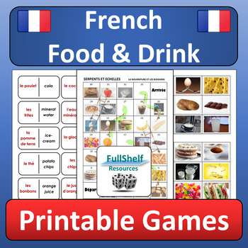 French Food Games (La Nourriture)