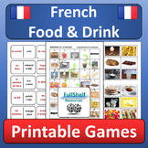 French Food and Drink (La Nourriture) Games