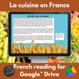 French Food and cooking activity book for Google Drive