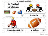 French Football 2 Emergent Reader Booklets