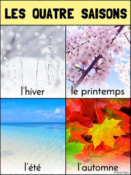 French Four Seasons / Les Quatre Saisons Poster