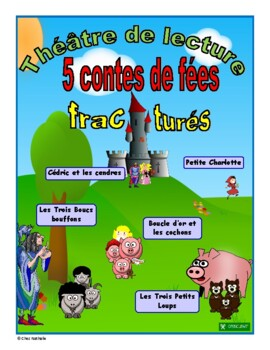 French Fractured Fairy Tales - Reader's Theatre  (Volume 1)