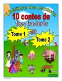 French Fractured Fairy Tales - Reader's Theatre (Volumes 1 & 2)