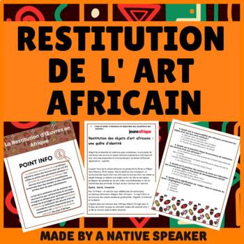 AP French Francais ART AESTHETICS Authentic text + questions esthetique