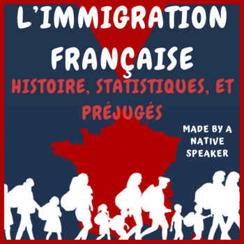 French Francais Immigration PowerPoint Presentation easy and concise facile!