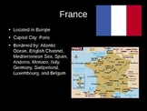 French--Francophone Countries--PowerPoint