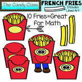 French Fries Clipart | MathPlace Value Clipart by The Candy Class
