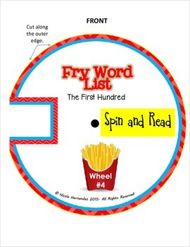 Sight Words {Fry's First 100 Instant Words Pack}