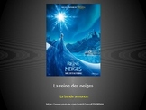 French Frozen Movie bande annonce Screenshot BookTalk Pres