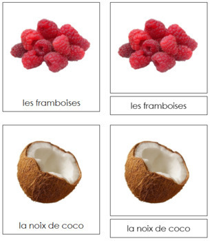 French - Fruit Cards