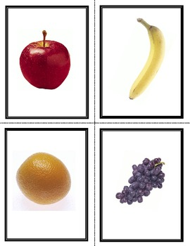 French Fruit & Vegetable Vocabulary Flashcards and Fun Activities