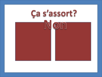 French Fruit Vocabulary Game (Powerpoint)
