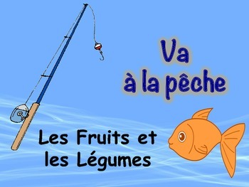 French Fruit and Vegetable Game (Va à la pêche-Go Fish)