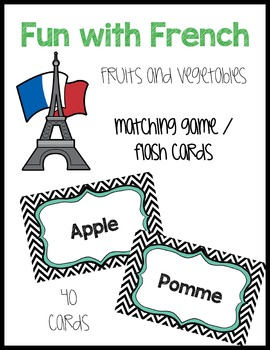 French Fruit and Vegetables