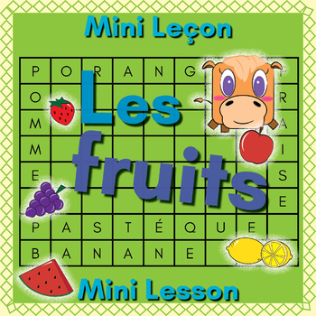 French Fruits Booklet