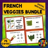 French Fruits Boom Cards, French Vegetables Boom Cards, Fr