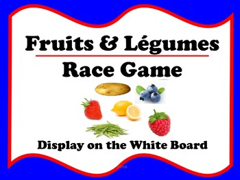 French Fruits & Légumes Race Game