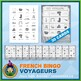 French Fur Trade Voyageurs Bingo Game • 30 Cards