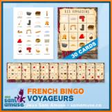 French Fur Trade Voyageurs Bingo Game • 30 Cards