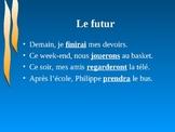 French - Future Tense - Le Futur