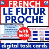 French Near Future Tense Boom Learning™ Digital Task Cards le futur proche