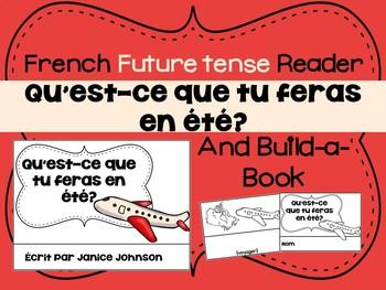 French Future tense Verbs Reader & Build-A-Book ~ Le futur