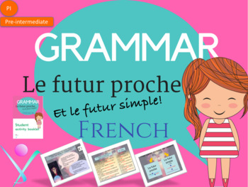 French Future tense lesson and worksheet NO PREP